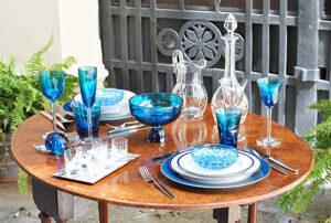 "ARTE DELLA TAVOLA: Haviland ""Nuit Bleue"""